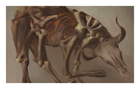 Sidney Nolan: Drought Skeleton (Carcass) 1953